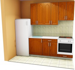 Olcsó lapraszerelt konyhabútor
